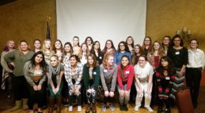 Soroptimists help young women with career development