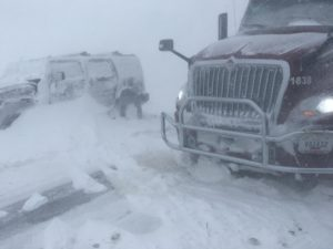 Motorists Stranded On Highway 275