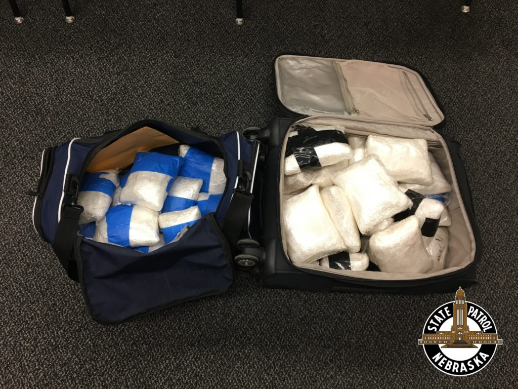 Investigators Seize 37 Pounds of Methamphetamine on I-80