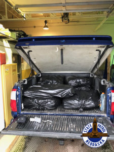 I-80 Traffic Stops Yield Seizure of 218 pounds of marijuana