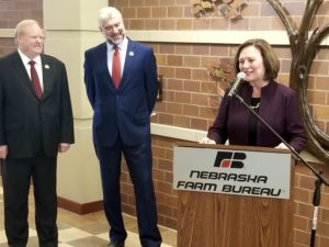 (Video) Nebraska Farm Bureau designates Fischer a 'Friend of Agriculture'