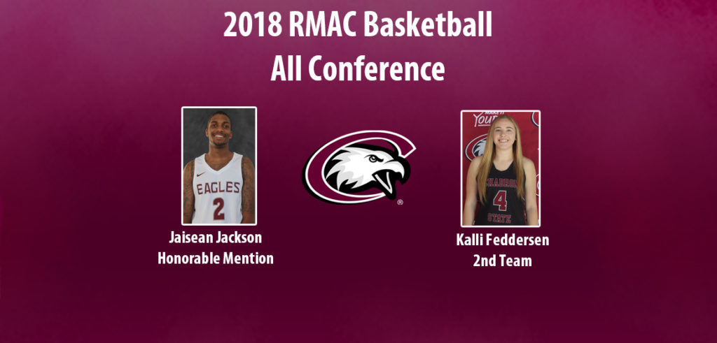 Feddersen, Jackson named in All-RMAC releases