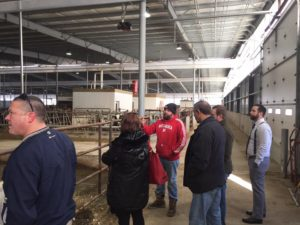 York and Seward County Leaders Tour Dairy Farms