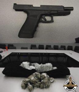 Troopers Find Stolen Gun, Marijuana During I-80 Traffic Stop