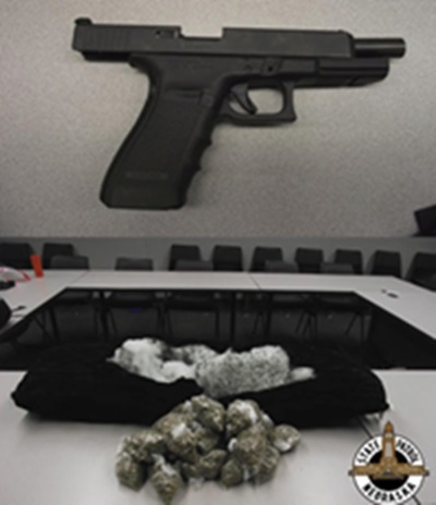 Troopers Find Stolen Gun, Marijuana During I-80 Traffic Stop