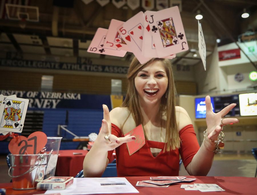 UNK sorority hosting annual Red Dress Poker Tournament