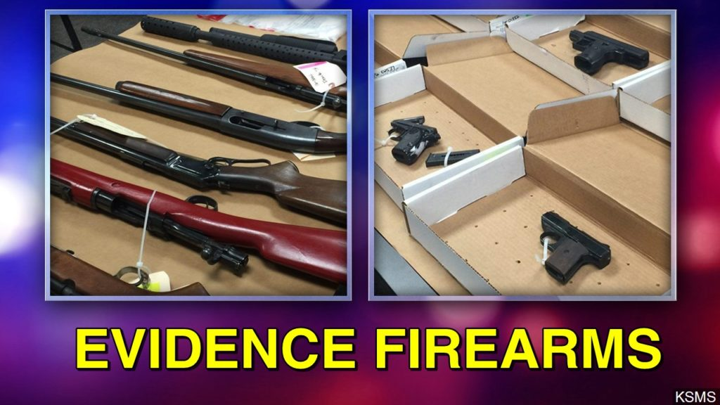 Wyoming county considers selling guns left in evidence