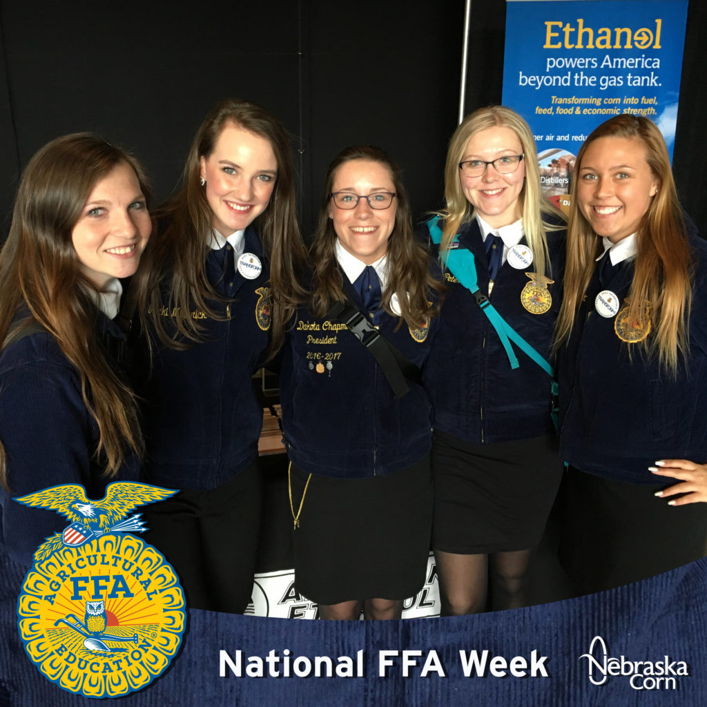 Wisconsin Students Celebrating National FFA Week
