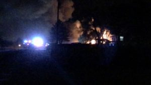 Monday night fire destroys rural Mitchell home