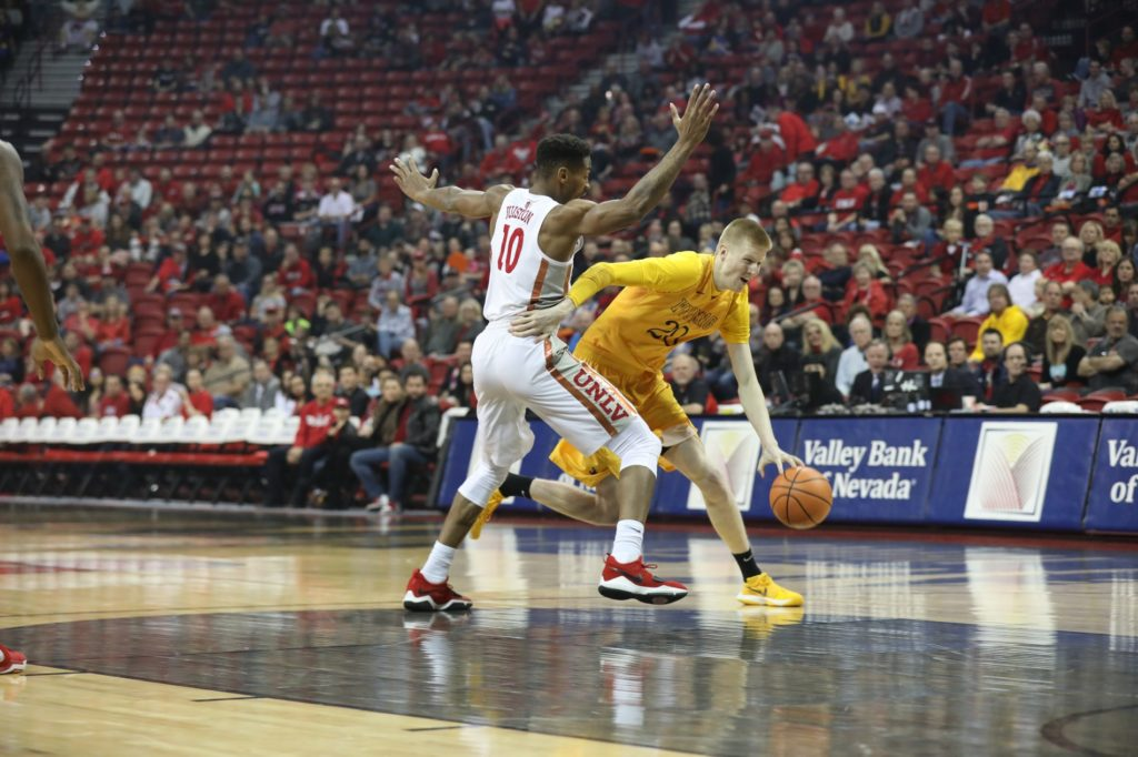 Pokes Comeback Falls Short at UNLV