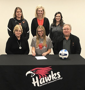 Stanton's Heppner to play volleyball at Northeast