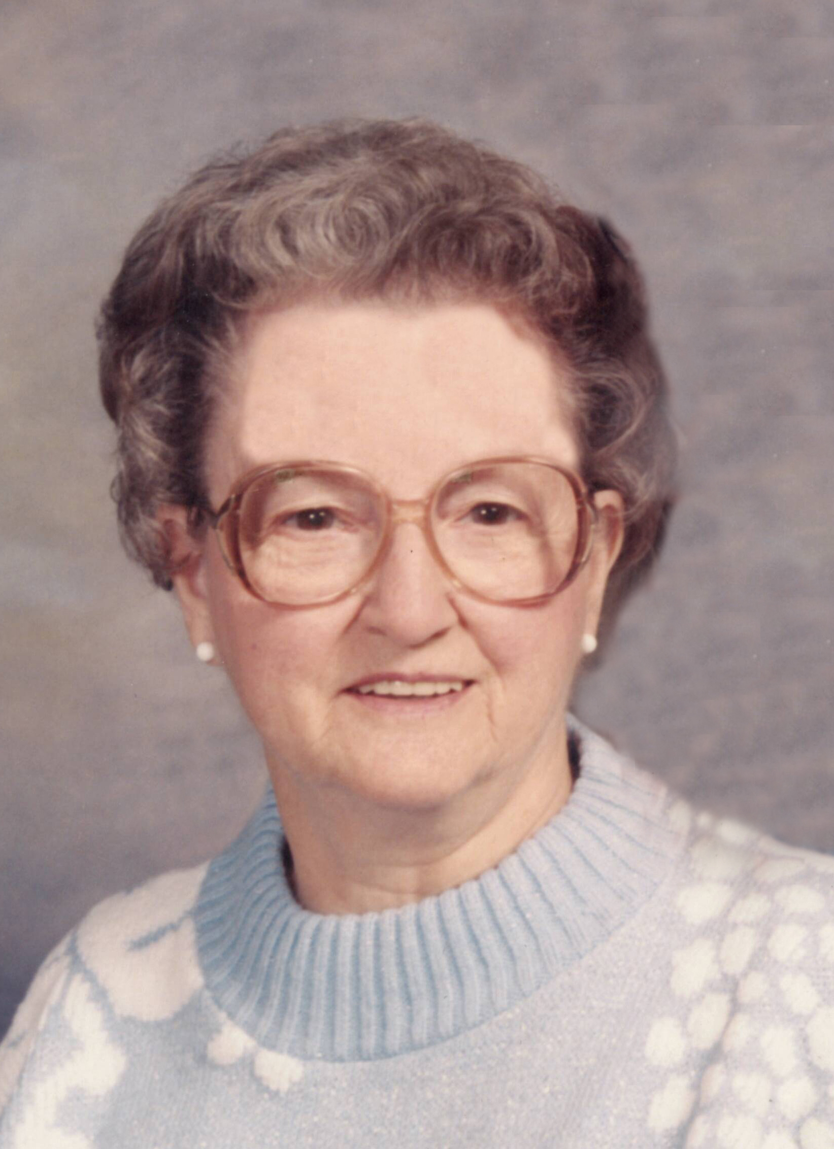 Alda E. Blincow, 96 years of age, of Oxford