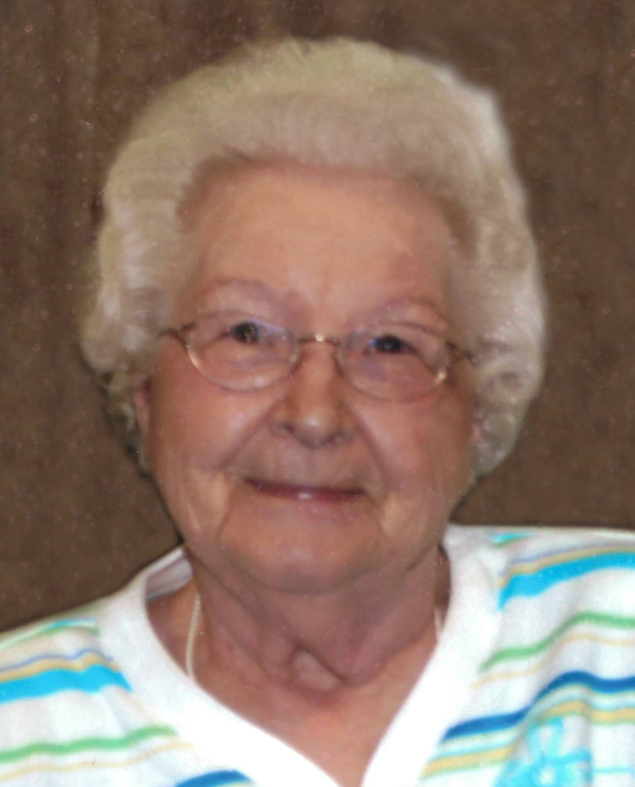 Helen Lorraine Blum, 97 years of age, of Alma