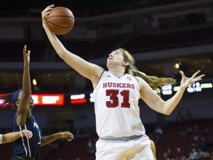 Husker Women Rebound for Win Over Penn State