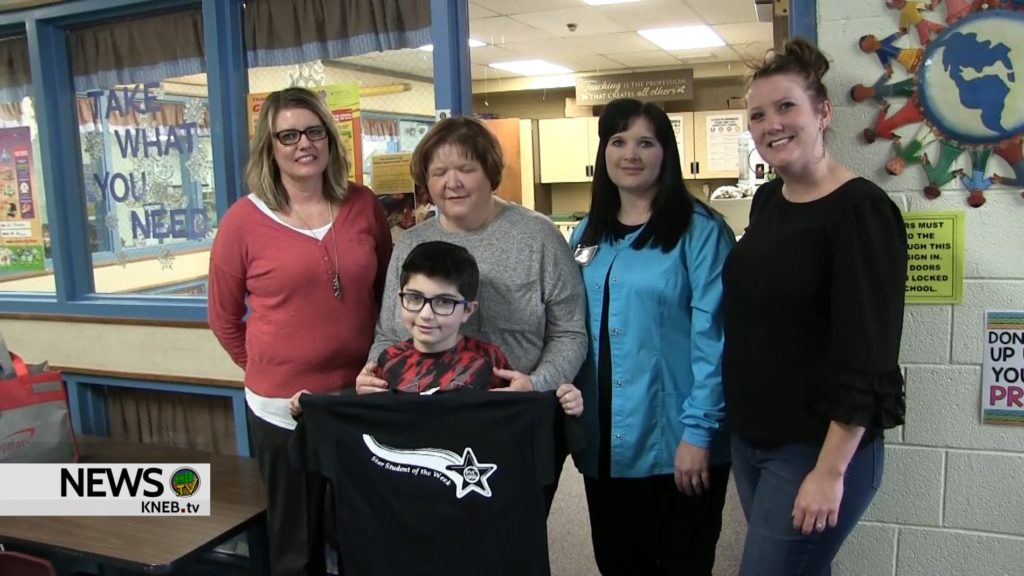 Geil Elementary's Kolton Aguallo named PVC Star Student of the Week