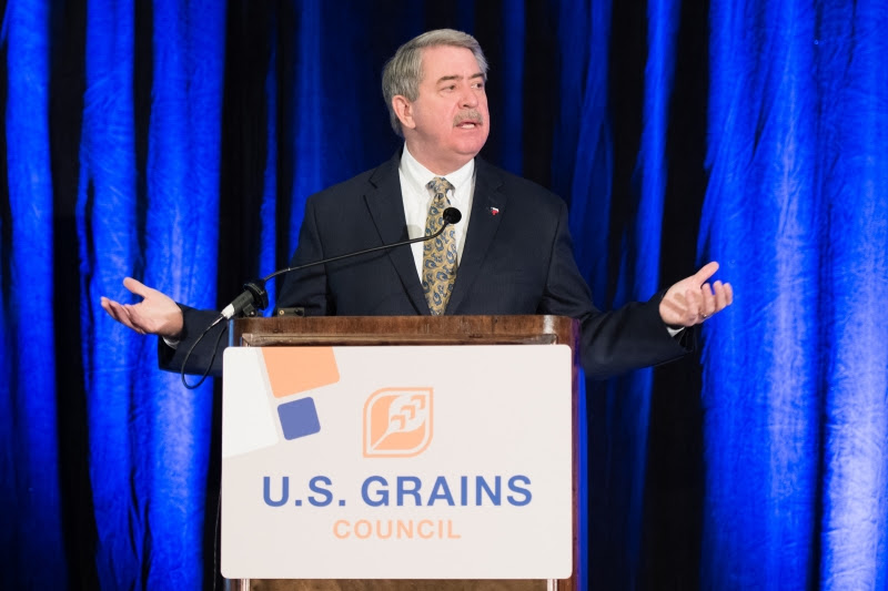 McKinney Updates U.S. Grains Council on Trade Negotiations