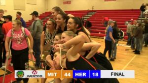 Mitchell Lady Tigers defeat Hershey to win C1-6 District Title
