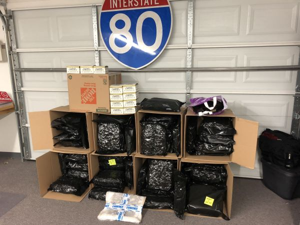 Over 100 Pounds of Marijuana and THC Products Seized on I-80