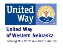 United Way of Western Nebraska Serving Box Butte & Dawes Counties hosting grant workshops