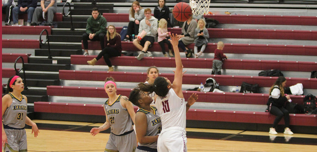 Regis women knock off CSC in overtime