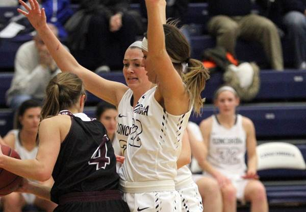 Concordia throttles Morningside, roars to GPAC title game
