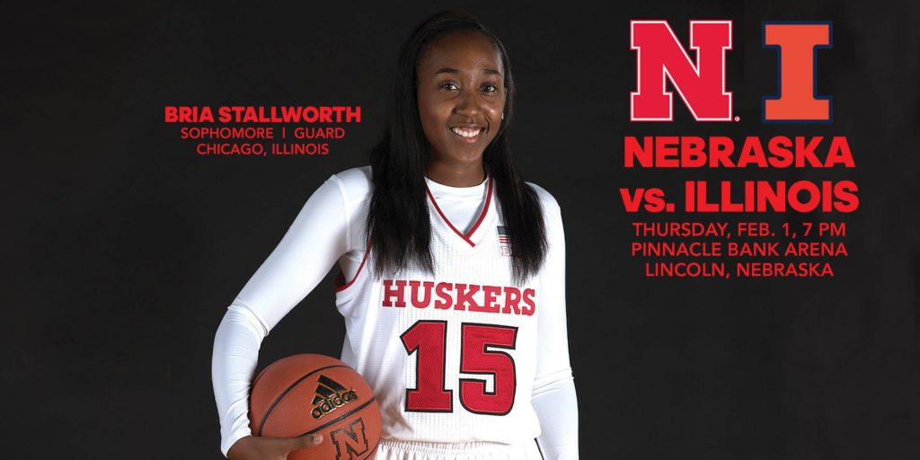 Huskers Fight for Season Sweep of Illini