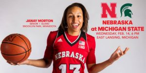 Huskers Set for Showdown with Spartans