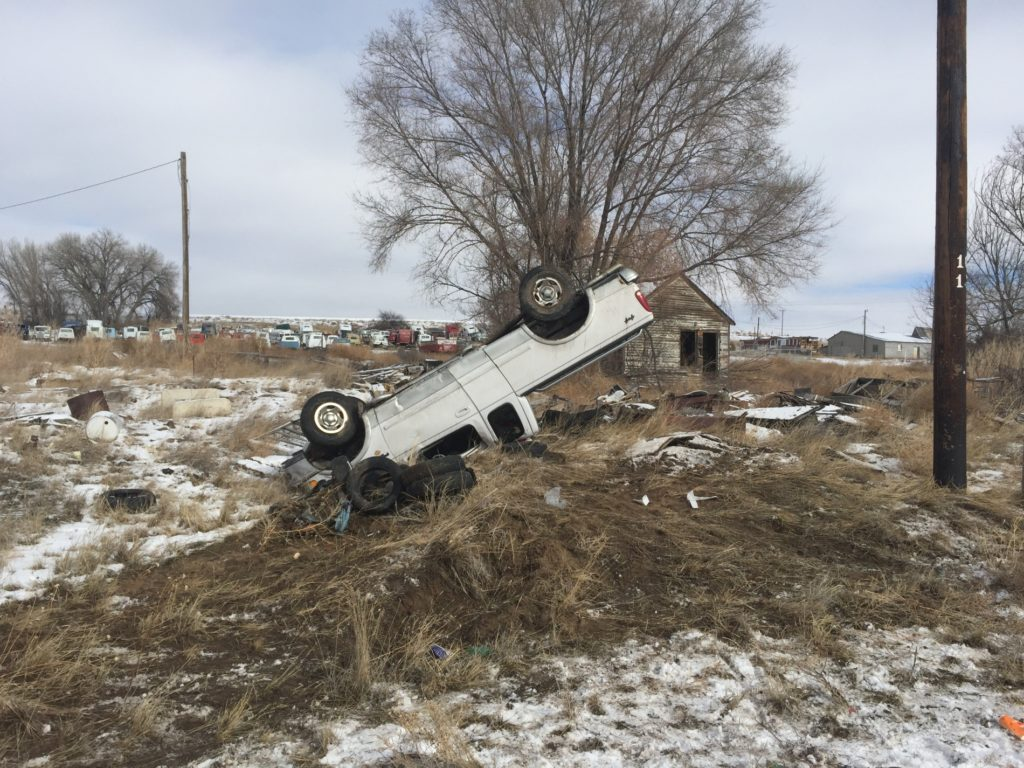 Rural Mitchell rollover sends driver to Regional West