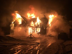 Family Left Homeless Following House Fire In Hoskins