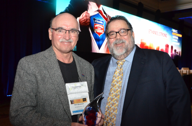 RFA Honors Farmer Ron Alverson with 2018 Industry Award