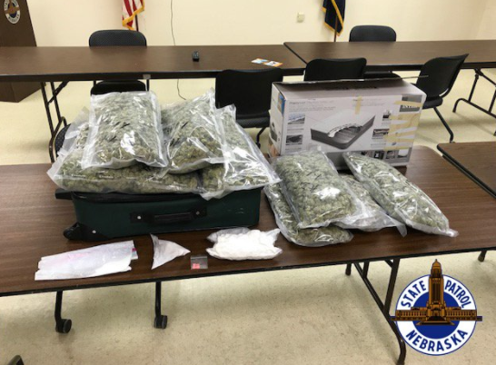 Drugs, Stolen Car Found During Weekend Traffic Stops