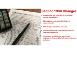Section 199A Fix 'Dilly, Dilly'