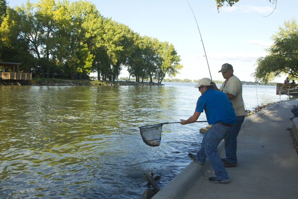 Johnson Lake project to improve angler access