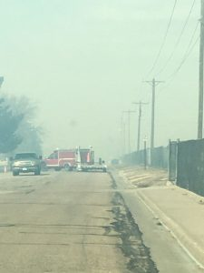 (AUDIO) Grass fire skirts north side of McCook