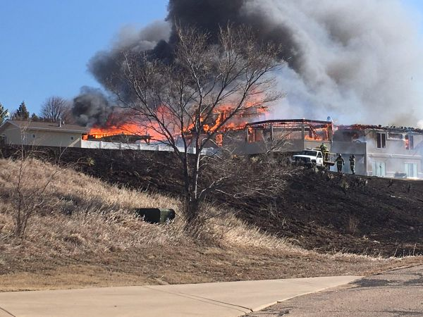 NW McCook evacuated in face of wind-whipped wildfire