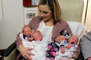 (VIDEO) First set of Quadruplets born in Nebraska for 2018