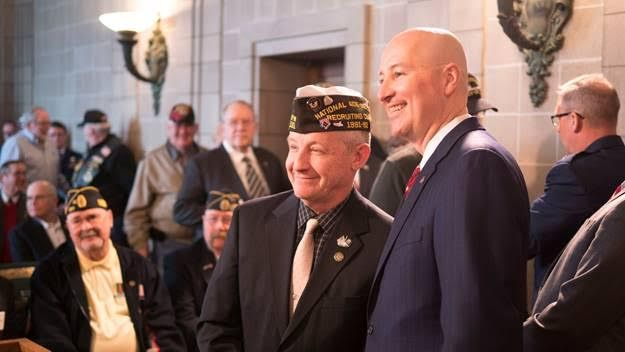 Gov. Ricketts Honors Veterans on National Vietnam Veterans Day