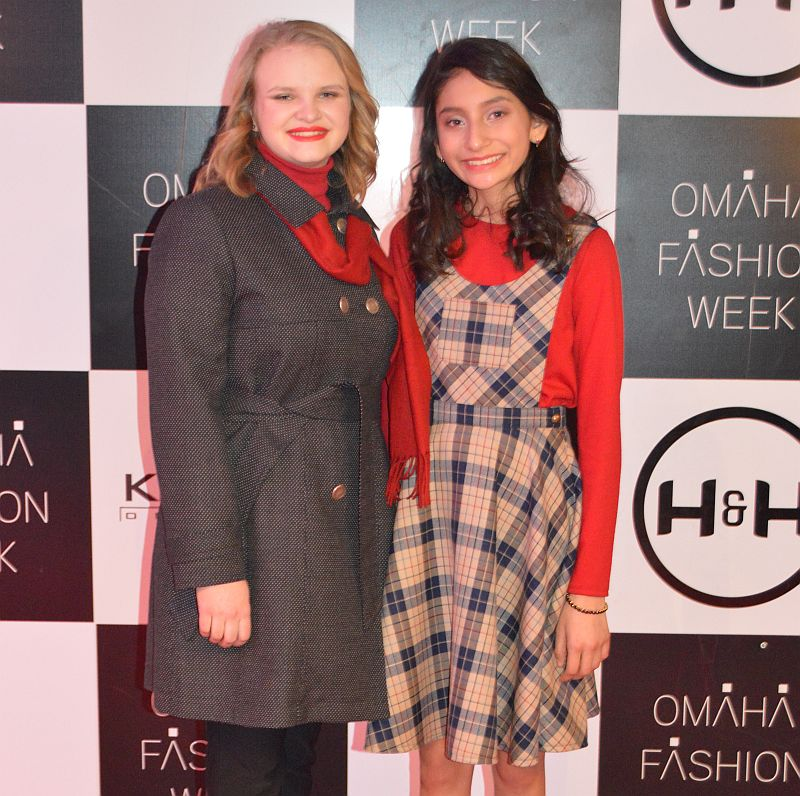 Anderson and Herrarte Walks the Runway at Omaha Fashion Week – Student Night