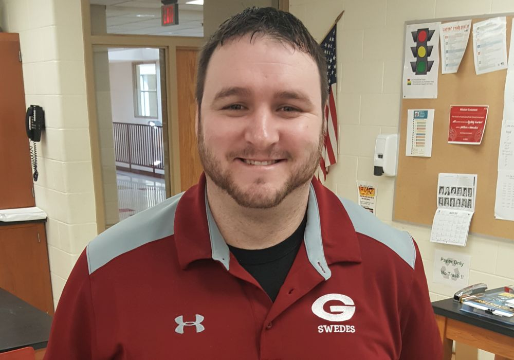 Carlin Named Swede Boys Basketball Coach