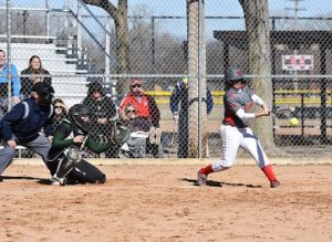 Northeast softball splits doubleheader with Marshalltown