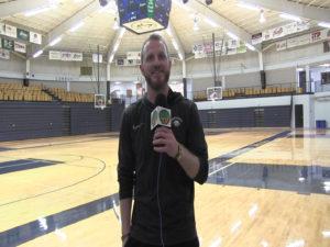 (AUDIO) Cory Fehringer talks Region IX Tourney after win last night