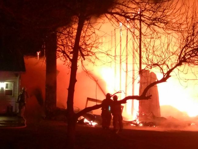 (Audio) Blaze destroys York barn