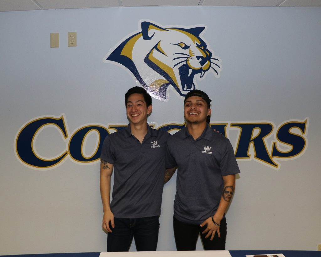 (AUDIO) WNCC's Ingram, Matzuda ink with Shaw University for soccer