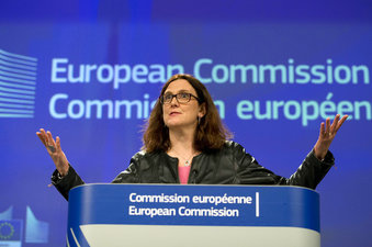 EU ready to retaliate over Trumps' proposed tariffs