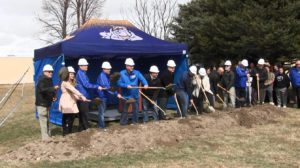 Ground broken for Gering High School renovation project