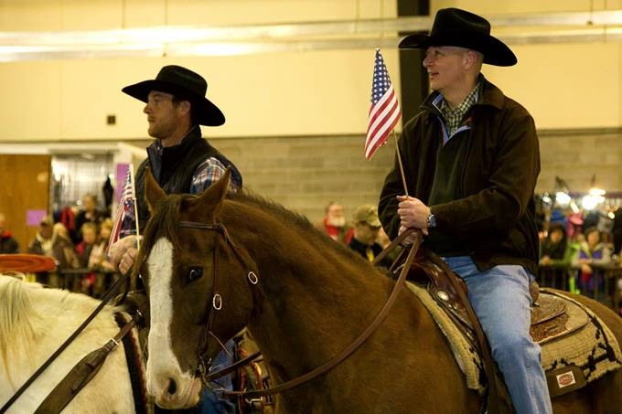 Gov. Ricketts Promotes Nebraska Horse Trails at Trail Riding Expo