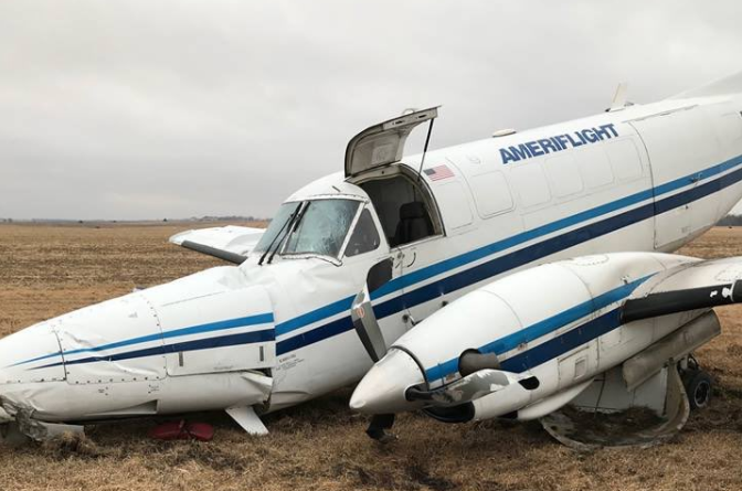No injuries reported in south-central Nebraska plane crash