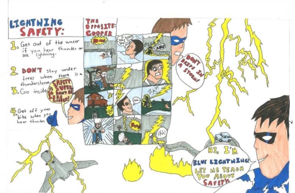 Hemingford student wins Nebraska severe weather poster contest