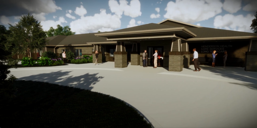 (VIDEO) Henderson Health Care's vision of new long term care facility becomes reality
