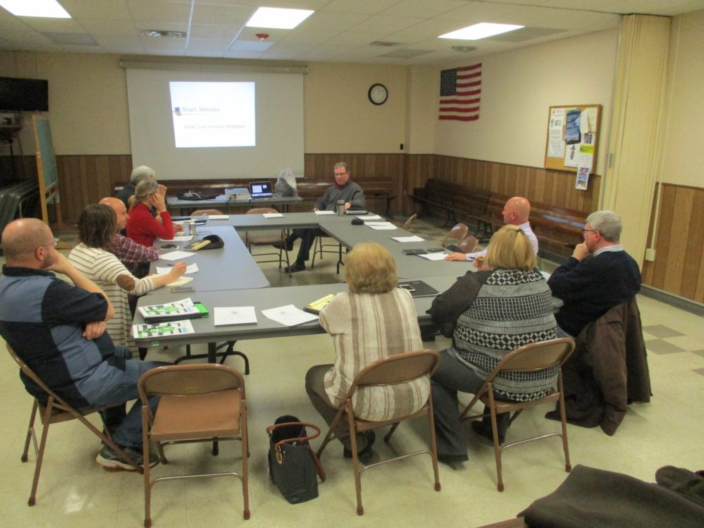 (Audio) Cuming County Housing Task Force Meets